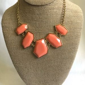 3/$30! Coral Statement Necklace